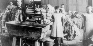 A Magdalen Laundry in Ireland early 20th Century