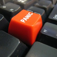 Panic Button by https://secure.flickr.com/photos/johnjoh/