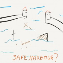 Cartoon of Safe Harbor wreakage